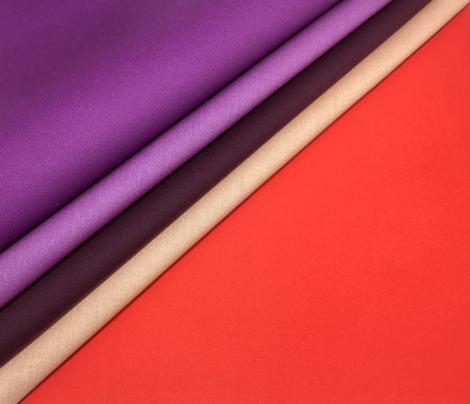 Vintage Matchbox Solid - Violet