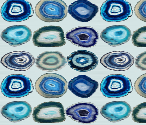 Agate Ikat fabric by babyancestree on Spoonflower - custom fabric