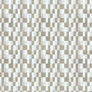 Geometry pattern  white hand drawn