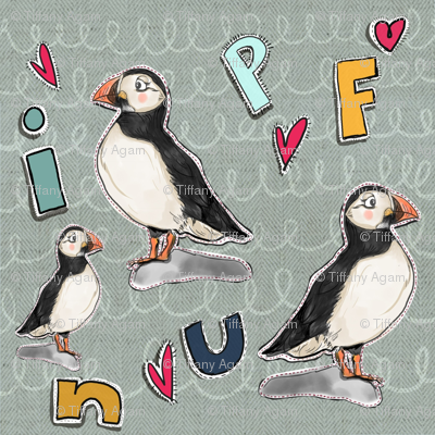 Puffin patches