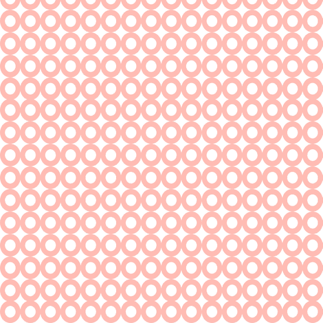 Modern Whimsy Circles Light Pink fabric by lauriewisbrun on Spoonflower - custom fabric