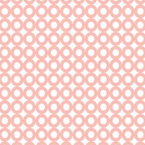 Modern Whimsy Circles Light Pink