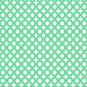 Modern Whimsy Circles Mint