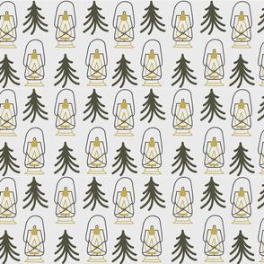 Lanturns & Trees