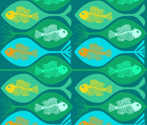 Fish Wish fabric by inkysunshine on Spoonflower - custom fabric