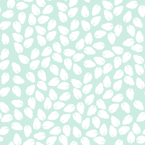Lula jade  fabric by lilyoake on Spoonflower - custom fabric