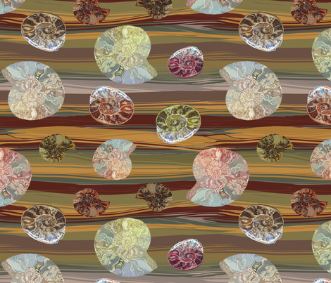 FOSSIL ROCK fabric by house_of_heasman on Spoonflower - custom fabric
