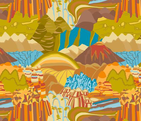 geology fabric by dasbrooklyn on Spoonflower - custom fabric