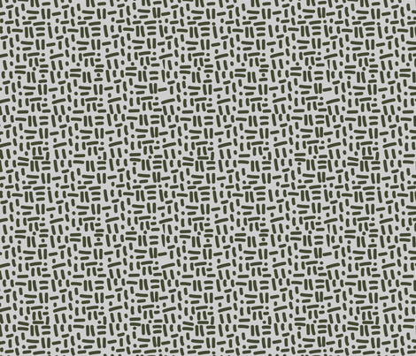 Forest Geometrics fabric by wildflower_like_grace on Spoonflower - custom fabric