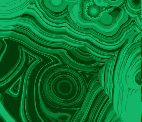 malachite fabric by phein on Spoonflower - custom fabric