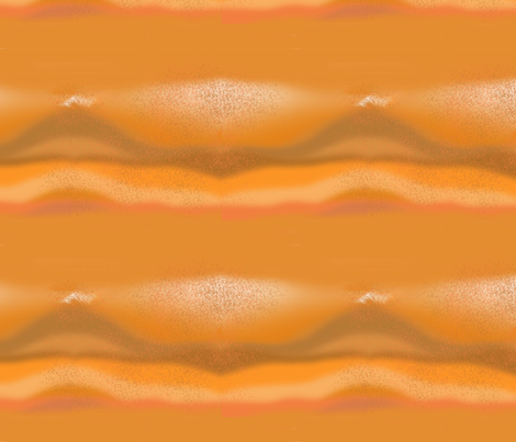 Sandstorm at Bryce fabric by della_vita on Spoonflower - custom fabric