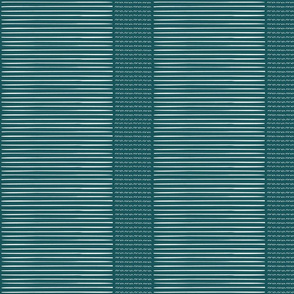 Tribal Stripe-teal