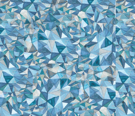 Rock Crystals fabric by the_make_textile_design on Spoonflower - custom fabric