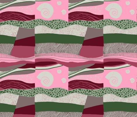 Geofabulous fabric by ruth_robson on Spoonflower - custom fabric
