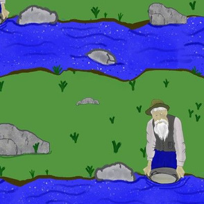 theres gold in them hills, nose prospectors 2