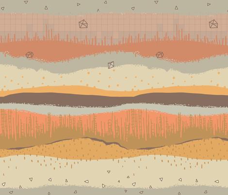 Under the crust fabric by mrshervi on Spoonflower - custom fabric