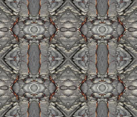 Lava Sample - Mirrored fabric by studioxtine on Spoonflower - custom fabric