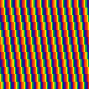 rainbow pride shift vertical
