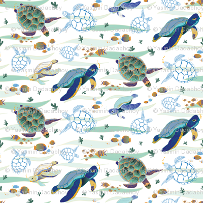 turtles tile 1