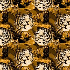 Endangered Siberian Tiger 5 gold