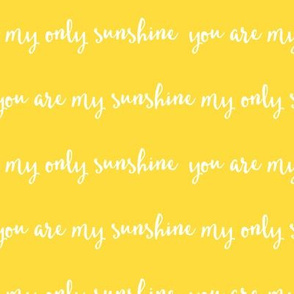 Sunshine - yellow