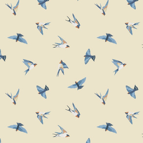 Scattered Swallows (natural)