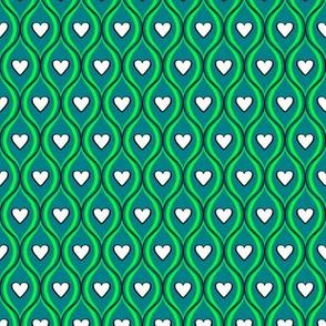 Green Heart Weave