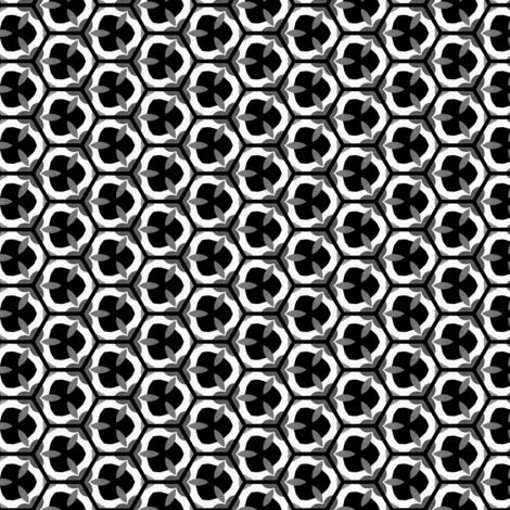 neutral petalweb fabric by mamastone on Spoonflower - custom fabric