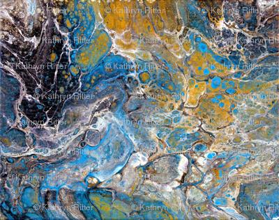 Geology Macro - Lapis Agates Mineralogy - Large Scale