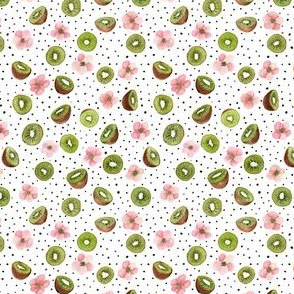 Kiwi & dots very small