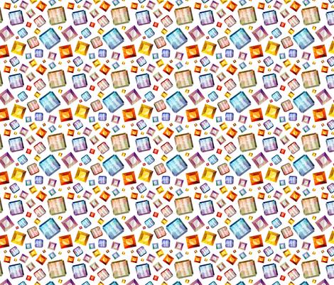 Diamonds pattern fabric by katyalisich on Spoonflower - custom fabric