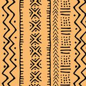 Mud Cloth II // Tacao Orange // Small