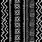 Mud Cloth II // Black // Small