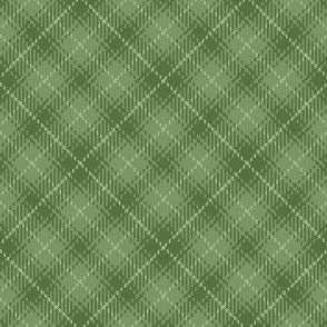 07495146 : bias tartan : limestone bracken green