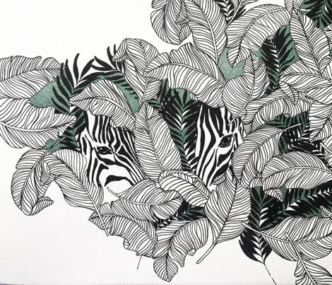 Zebra fabric by audrey_rasper on Spoonflower - custom fabric