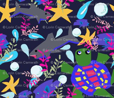 Endangered ocean life