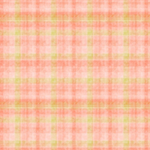 Soft Pastel Plaid in Watercolor