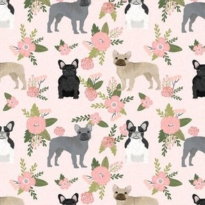 french bulldog pet quilt d dog breed fabric collection floral