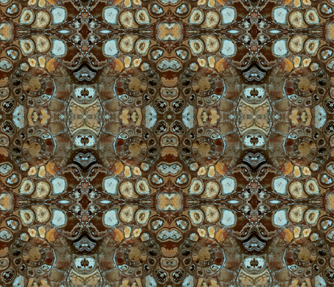 Ammonite fabric by fanciful_whimsy on Spoonflower - custom fabric