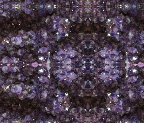 Amethyst Crystal fabric by kleinerpfau on Spoonflower - custom fabric