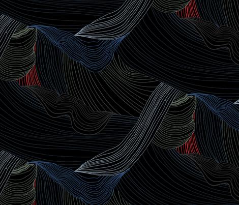 Molten Rock by Friztin fabric by friztin on Spoonflower - custom fabric