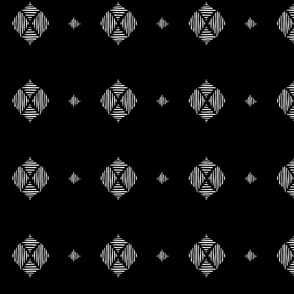 Tribal Diamond-black
