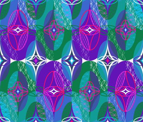 Hidden Gems fabric by paula's_designs on Spoonflower - custom fabric