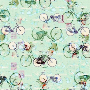 Light Green Bicycle