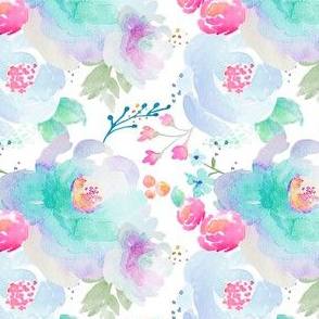 Indy Bloom Design Floral blues A