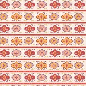Summer Boho Mandala Stripe