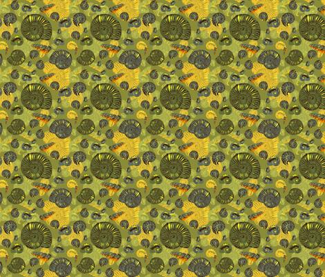 ammonites - small fabric by michaelakobyakov on Spoonflower - custom fabric