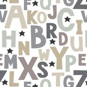 neutral alphabet
