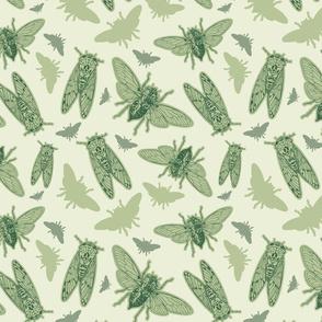 Green Cicadas