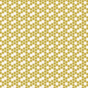 Mustard Yellow Honey Comb